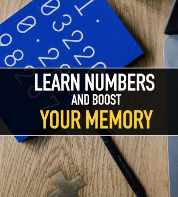 Learn by numbers and boost your memory