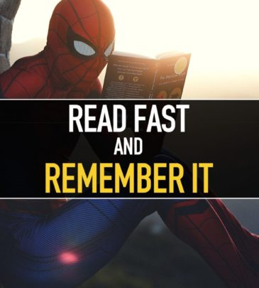 Read Fast and remember it