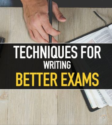 Techniques to writing better Exams