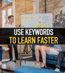 Use Keywords to learn faster