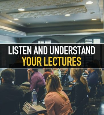 Listen and understand your lectures