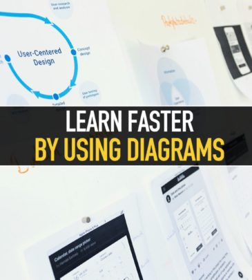 Learn faster by using diagrams