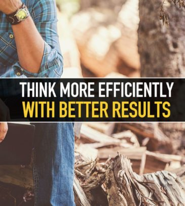 Think more efficiently with better results