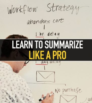 Learn to summarize like a PRO